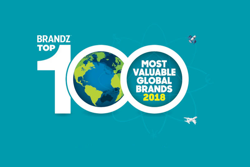 BrandZ 公布 2018 年全球最具價值品牌 Top 100 排行榜