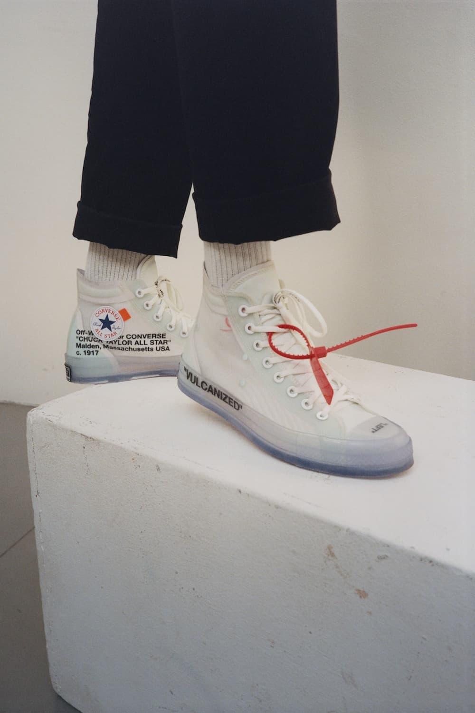 Converse x Virgil Abloh Chuck 70 聯乘鞋款完整發售情報