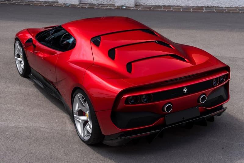 超激罕!只會生產一台的 Ferrari SP38 超級跑車