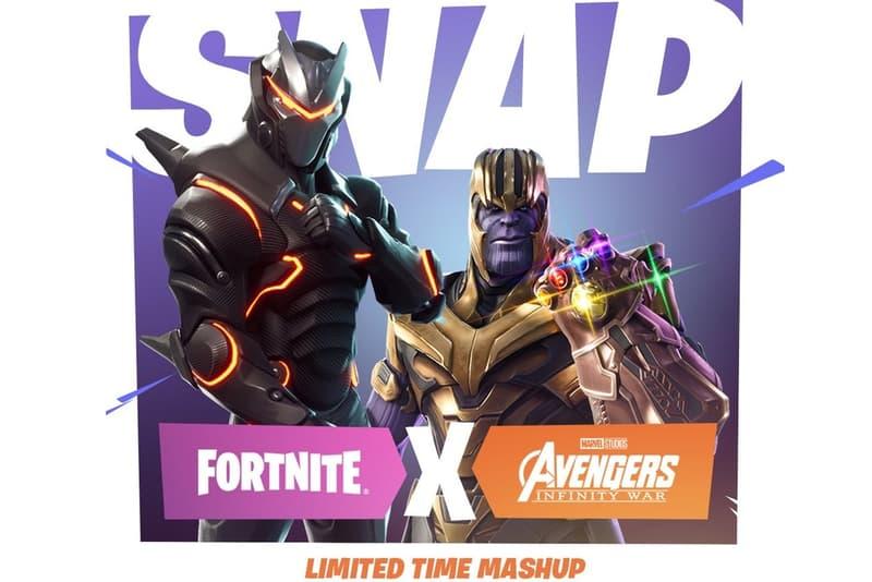 Thanos 轉戰電玩?《Avengers: Infinity War》將與《Fortnite》推出聯乘模式