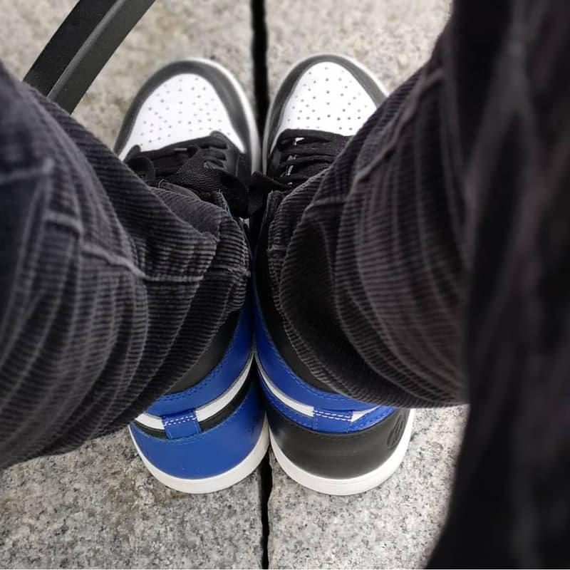 藤原浩再度着用 Sample 版本 fragment design x Air Jordan 1