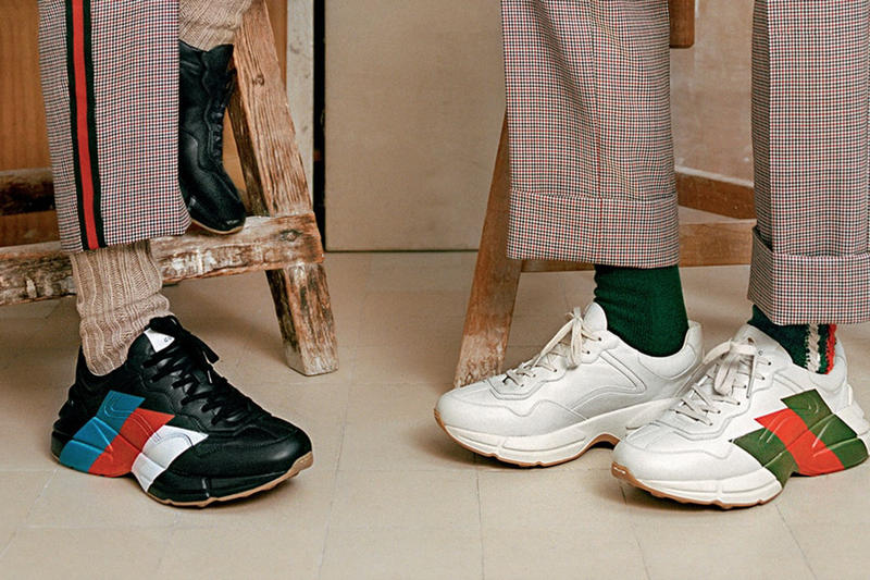 Gucci 為人氣 Rhyton Sneaker 推出全新配色