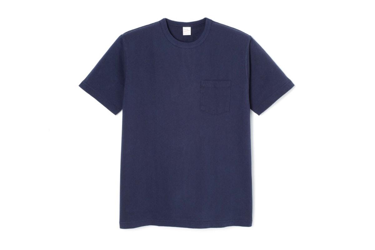 王道無地 T-Shirt 品牌-Healthknit 日製軍規 Pocket Tee 香港全面上架