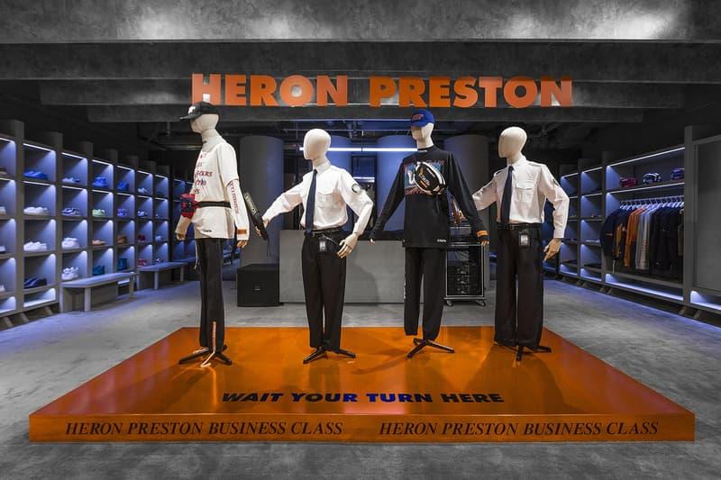 走進 Heron Preston 與 HBX 打造之期間限定店及開幕派對
