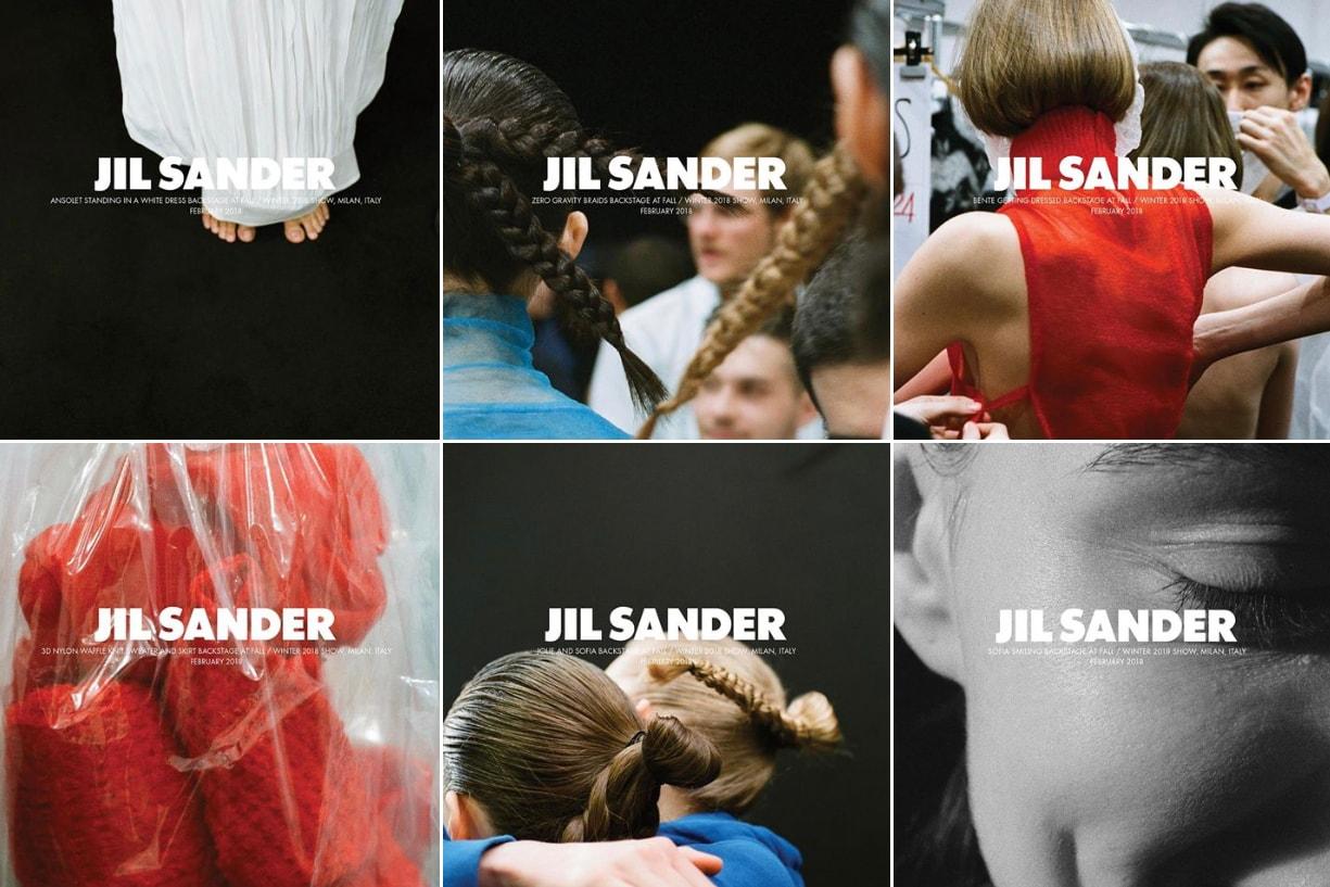 HYPEBEAST 專訪 JIL SANDER 創作總監 Luke 與 Lucie Meier