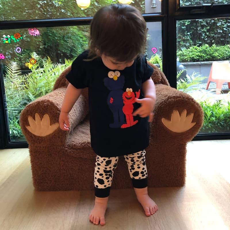 KAWS 為女兒穿上全新 UNIQLO UT x《Sesame Street》聯乘系列