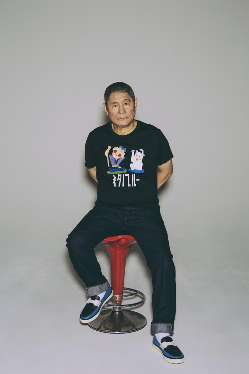 北野武個人時尚品牌 KITANOBLUE 首波系列正式登場