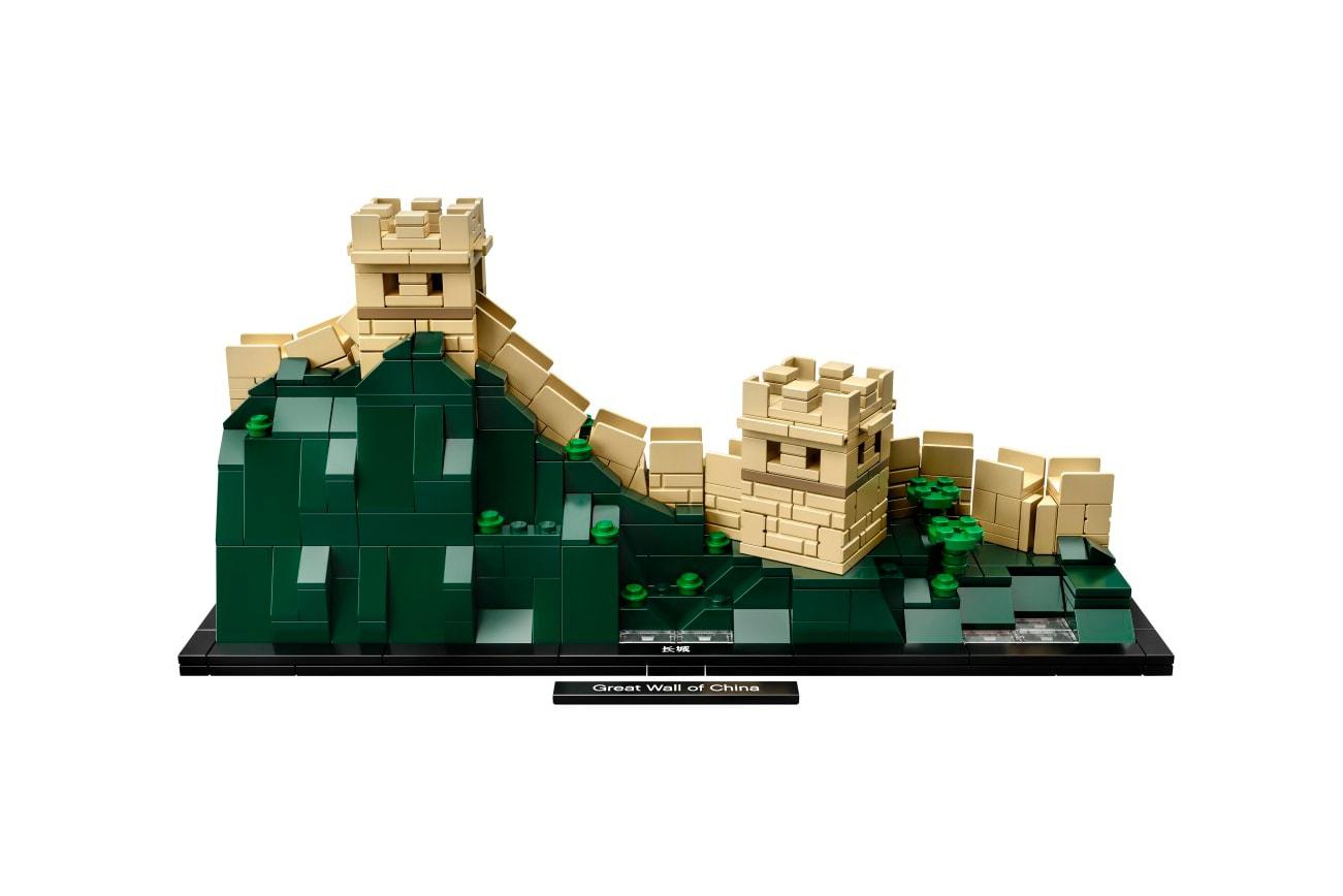 LEGO Architecture 即將推出中國萬里長城及美國自由神像