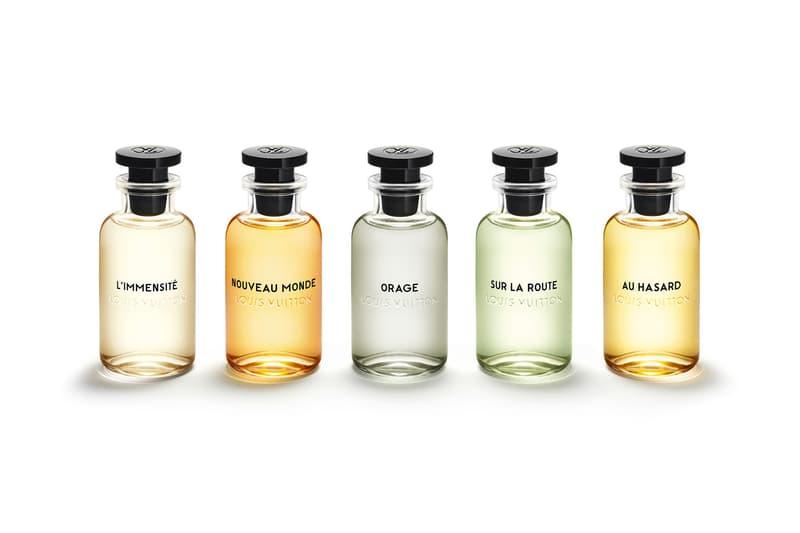 Louis Vuitton 首次男性香水系列發售日公開