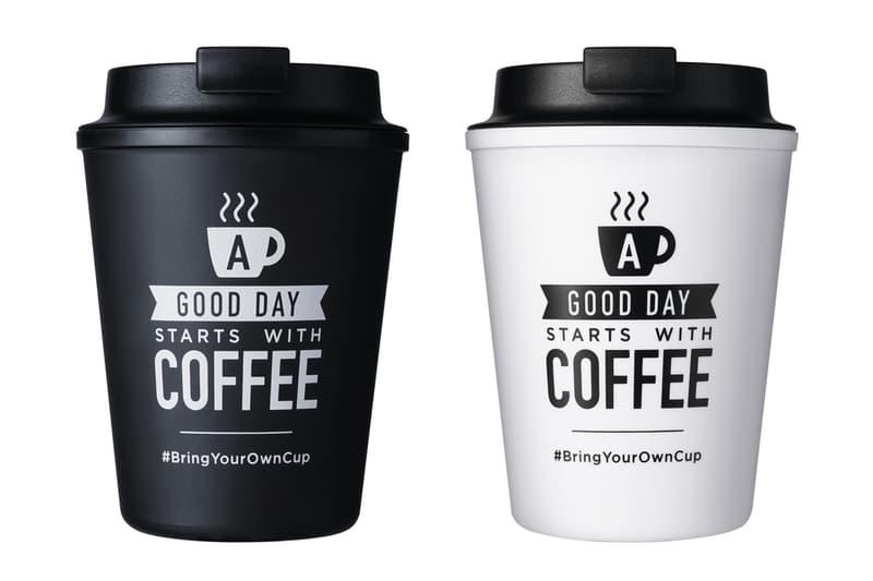 香港 McCafé 與日本品牌 RIVERS 推出限量版隨行杯
