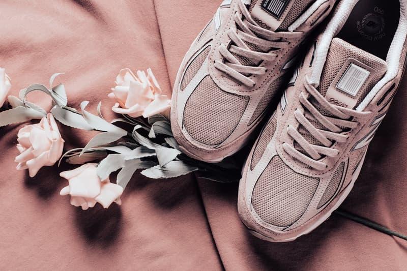 New Balance 990 推出全新配色「Faded Rose/Komen Pink」