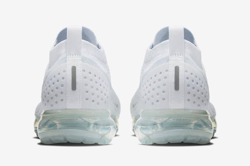 Nike Air VaporMax 2.0「Triple White」配色正式上架