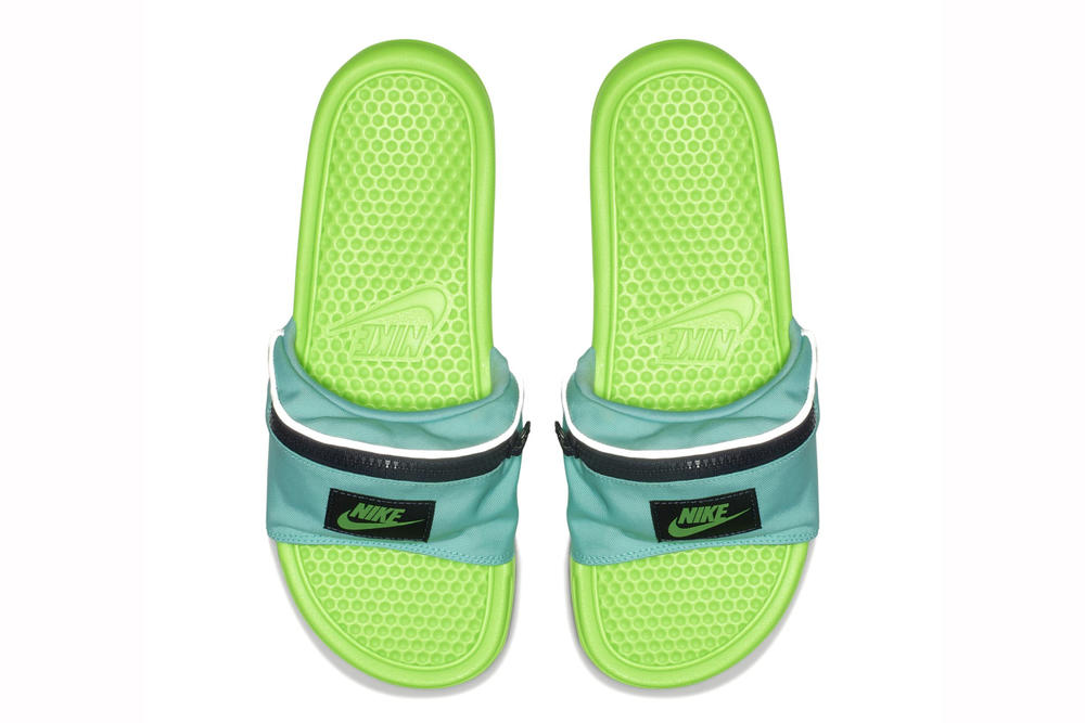 機能滿載-Nike 推出「Fanny Pack」Benassi Slide