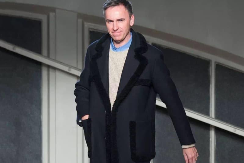 Raf Simons 將攜 2019 春夏系列重返巴黎時裝周