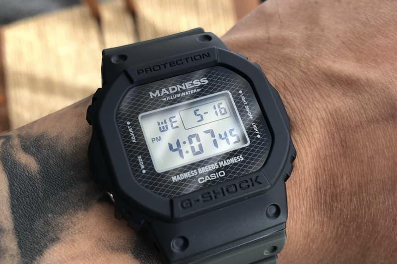 余文樂搶先揭露 MADNESS x G-SHOCK 聯乘腕錶