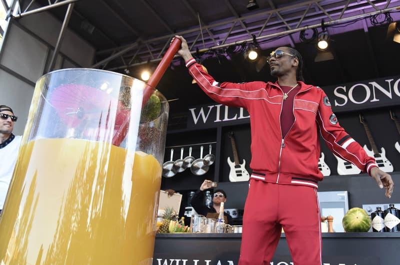 Snoop Dogg 榮登「世界最大雞尾酒」紀錄保持人