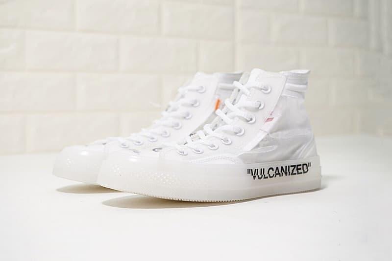 UPDATE: 網絡流傳的 Converse x Virgil Abloh Chuck 70 白色版並非官方配色