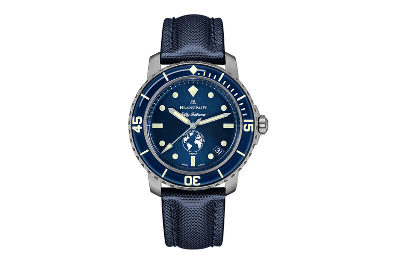 史上首枚潛水錶-BLANCPAIN Fifty Fathoms 第三代「心繫海洋」潛水手錶