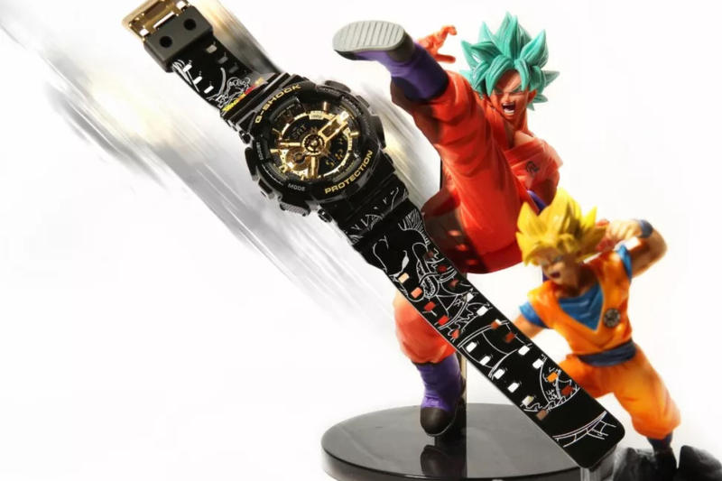 《Dragon Ball Super》x G-SHOCK 聯名錶款釋出