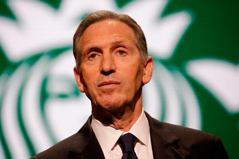 Starbucks CEO Howard Schultz 即將參選美國總統?