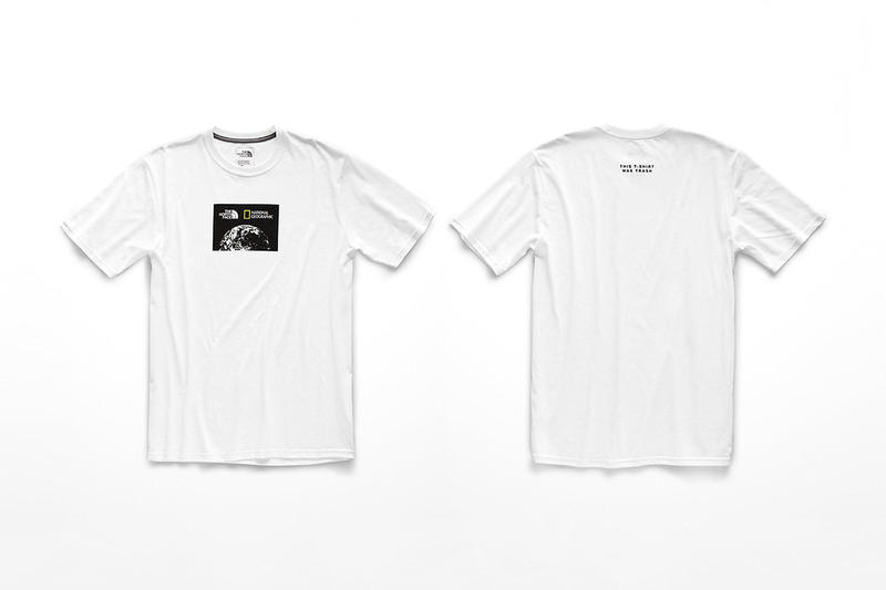The North Face x National Geographic 攜手打造膠樽回收 T-Shirt 環保系列