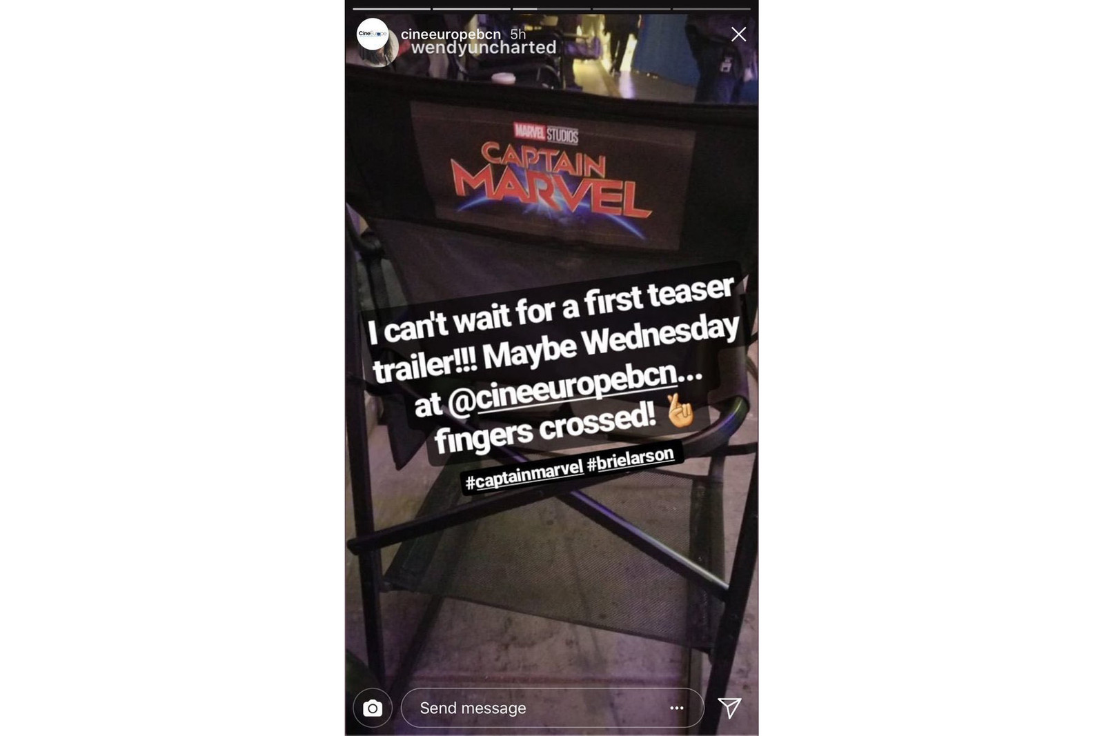 《Captain Marvel》本周或將發放首波電影預告片