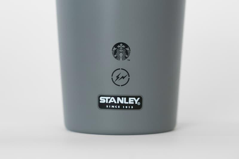 Fragment Design x Starbucks x Stanley 三方聯乘名保溫杯系列