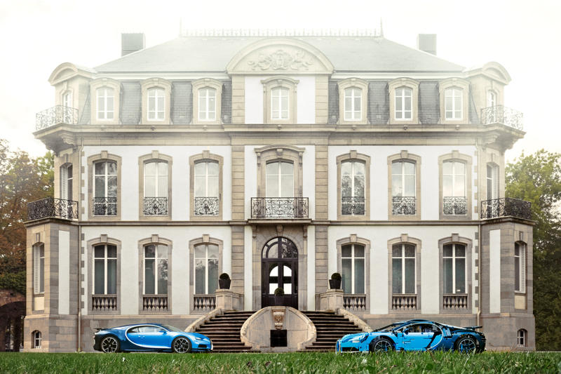 還原度極高-LEGO Technic 打造 1:8 最豪超跑 Bugatti Chiron