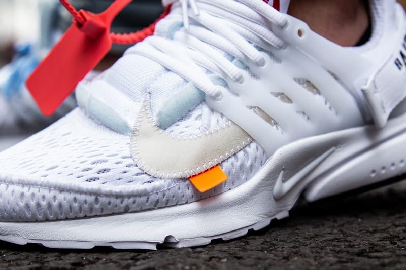 率先着用 Virgil Abloh x Nike Air Presto 2.0 白色版本