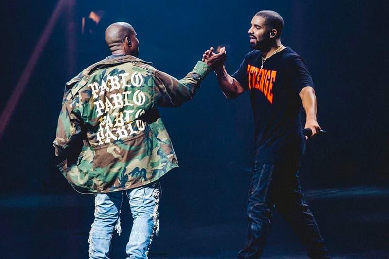 Drake 與 Kanye West 合作?傳言終被證實