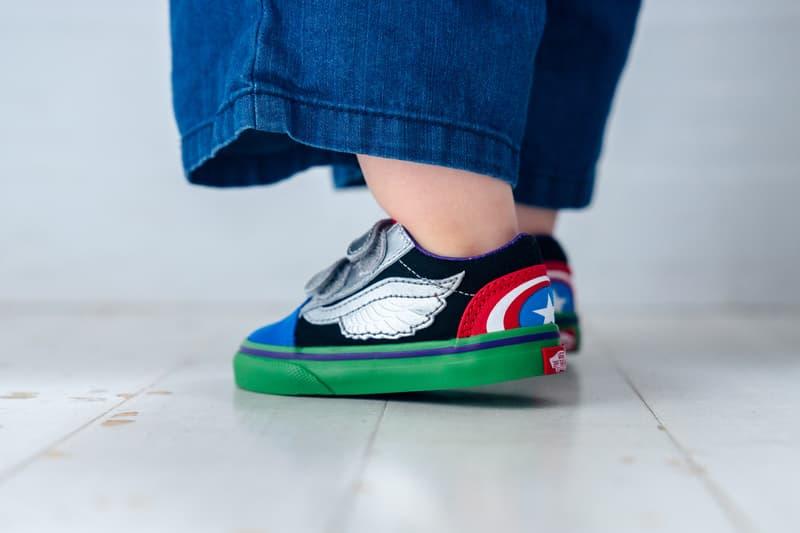 #hypekids: Marvel x Vans 童裝鞋款系列近賞