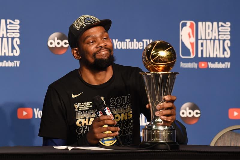 Kevin Durant 受訪時表示預計自己會在 35 歲退休