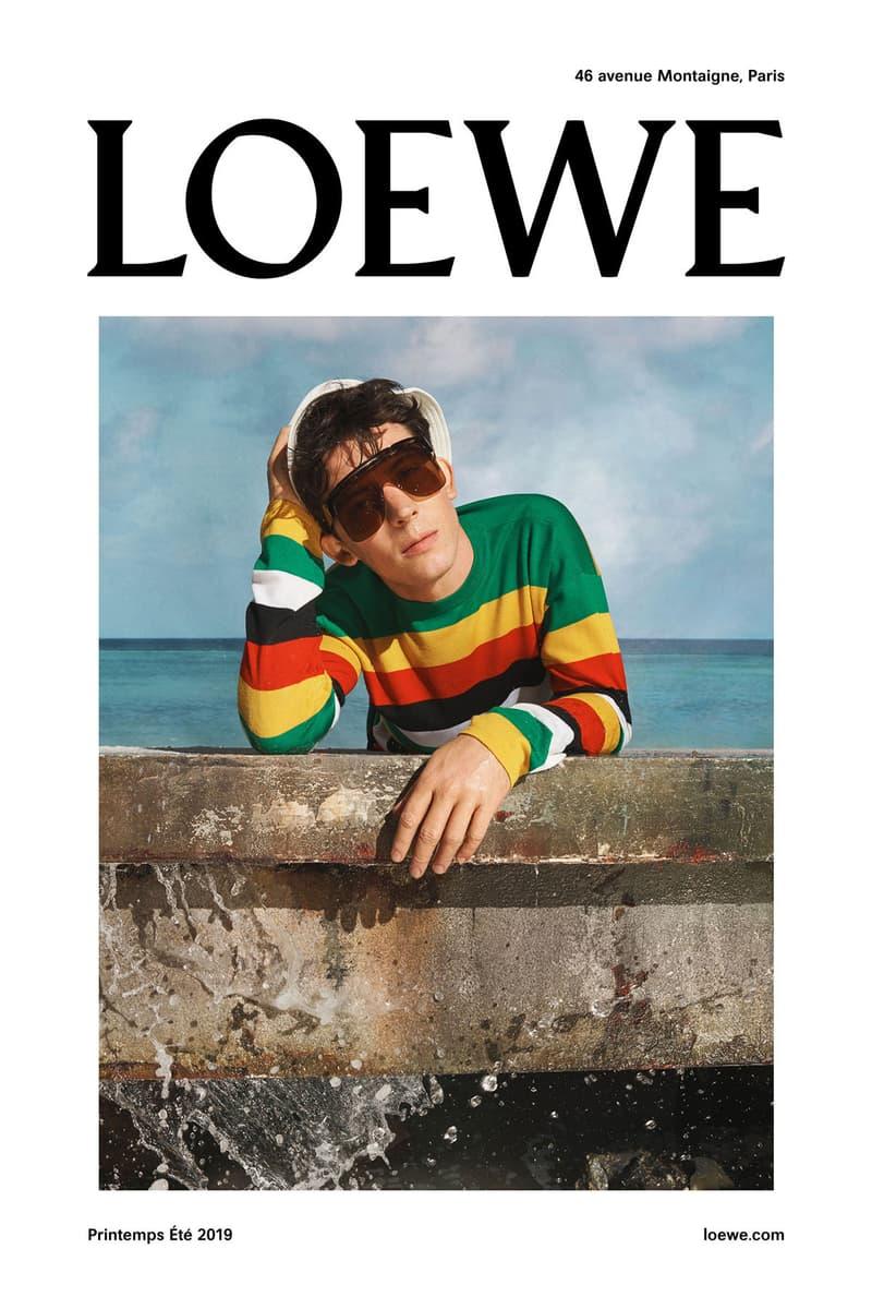 LOEWE 先行釋出 2019 春夏系列造型照預覽