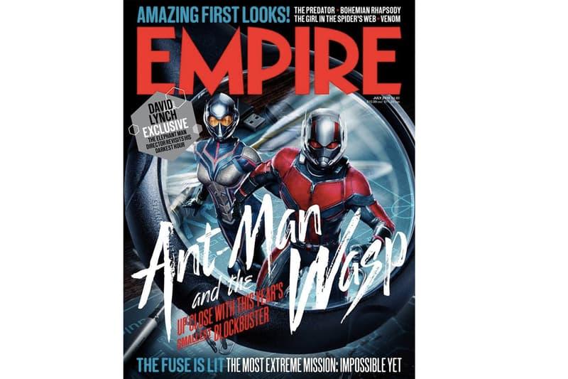 倒數一個月!《蟻俠2:黃蜂女現身》登上《Empire》最新封面