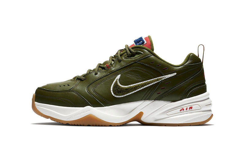 Nike Air Monarch IV 全新配色設計「Weekend Campout」