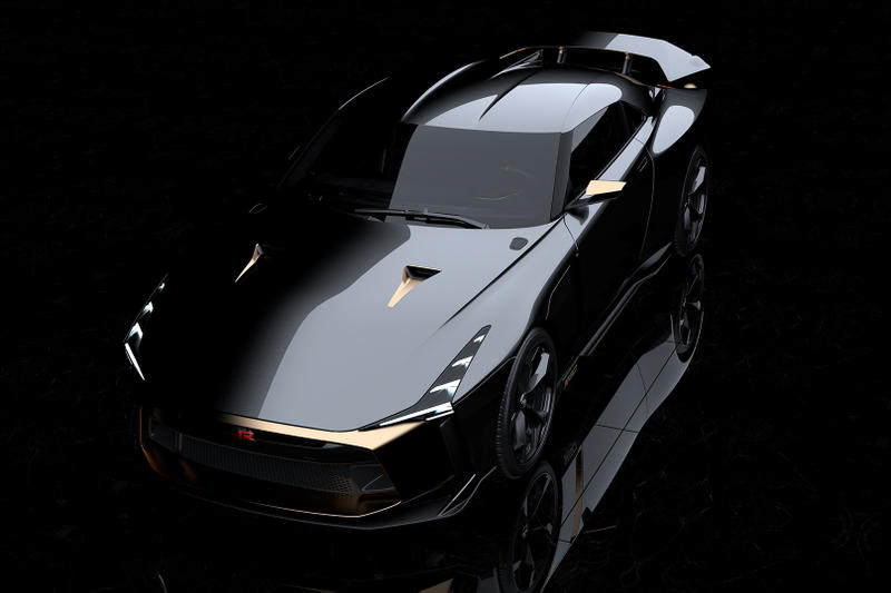 日產 Nissan 與 Italdesign 攜手打造 GT-R50 跑車