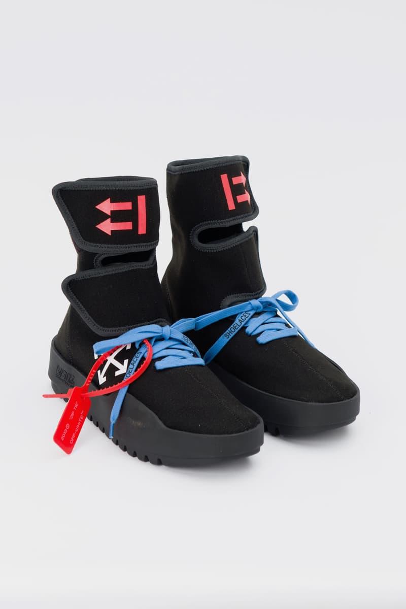 "OFF-WHITE c/o Virgil Abloh™  新作 ""CST-100"" 鞋款上架"