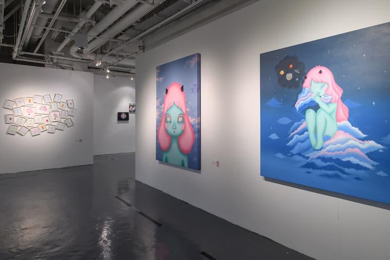 西班牙新晉藝術家 Okokume 開辦最新個展「The Arrival of Cosmic Girl」