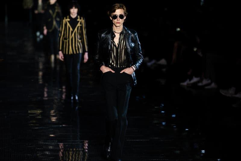 Saint Laurent 於紐約發布 2019 春夏男裝系列
