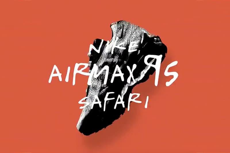 Size? x Nike 聯名 Air Max 95「Safari」帶來經典之融合?!