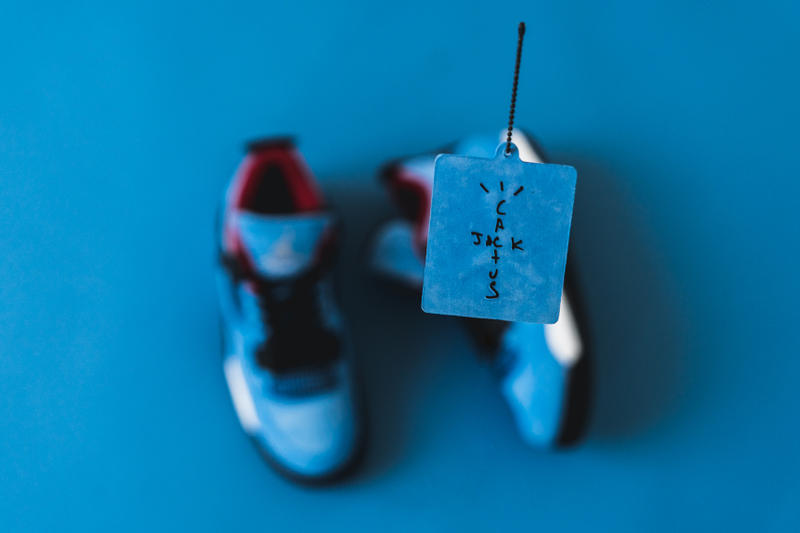 細節近賞 Travis Scott x Air Jordan 4「Cactus Jack」聯乘配色