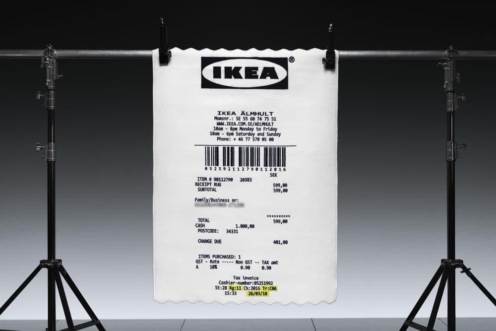 "Virgil Abloh x IKEA 聯乘系列 ""MARKERAD"" 更多產品曝光"
