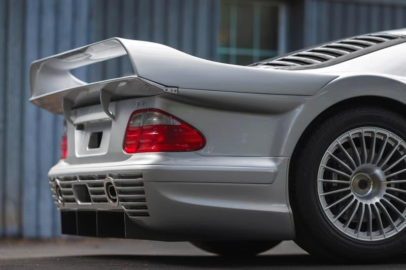 1998 年產之跑車 Mercedes-Benz AMG CLK GTR 將公開拍賣