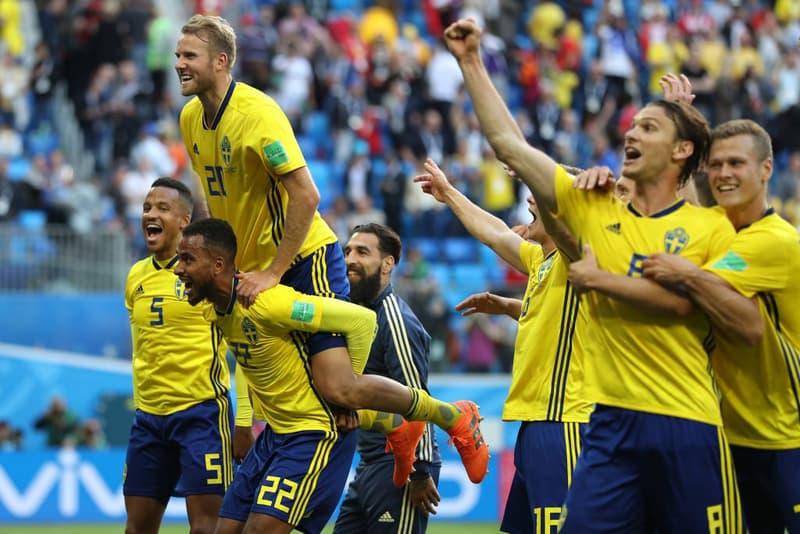 2018 世界盃 − 「十六強賽」瑞典一球淘汰瑞士