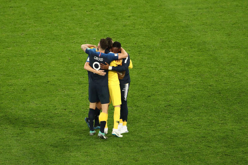 2018 世界盃 − 「四強賽」法國以一球擊敗比利時