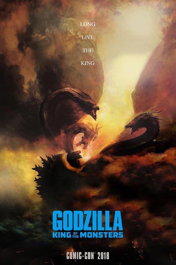《哥斯拉:怪獸之王》全新海報發佈