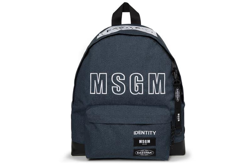意大利時尚勢力-Eastpak x MSGM 聯名背包系列