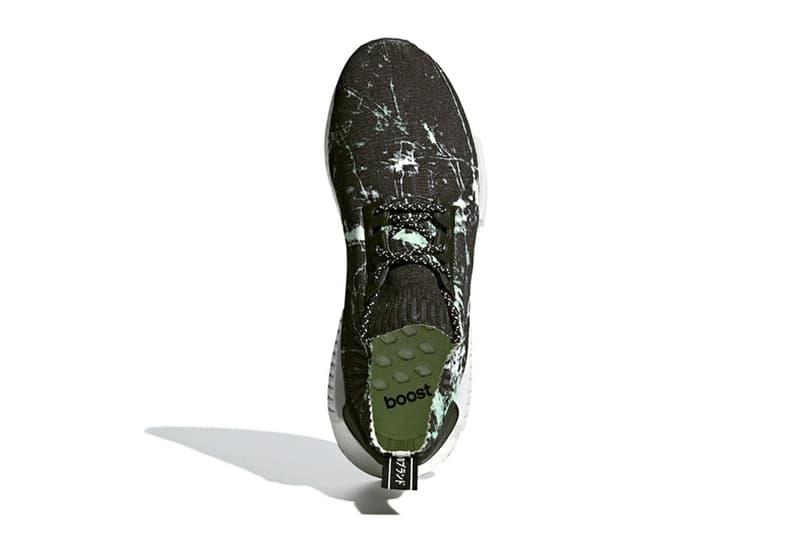 adidas Originals NMD R1 PK 全新配色設計「Green Marble」