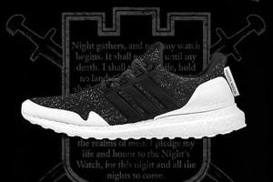 《Game of Thrones》x adidas 全新聯乘 UltraBOOST「Night's Watch」配色曝光