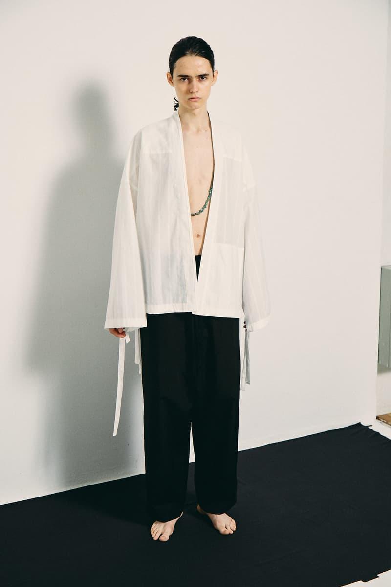 Yuu Haishi 自創品牌 ANEI 2019 春夏系列 Lookbook